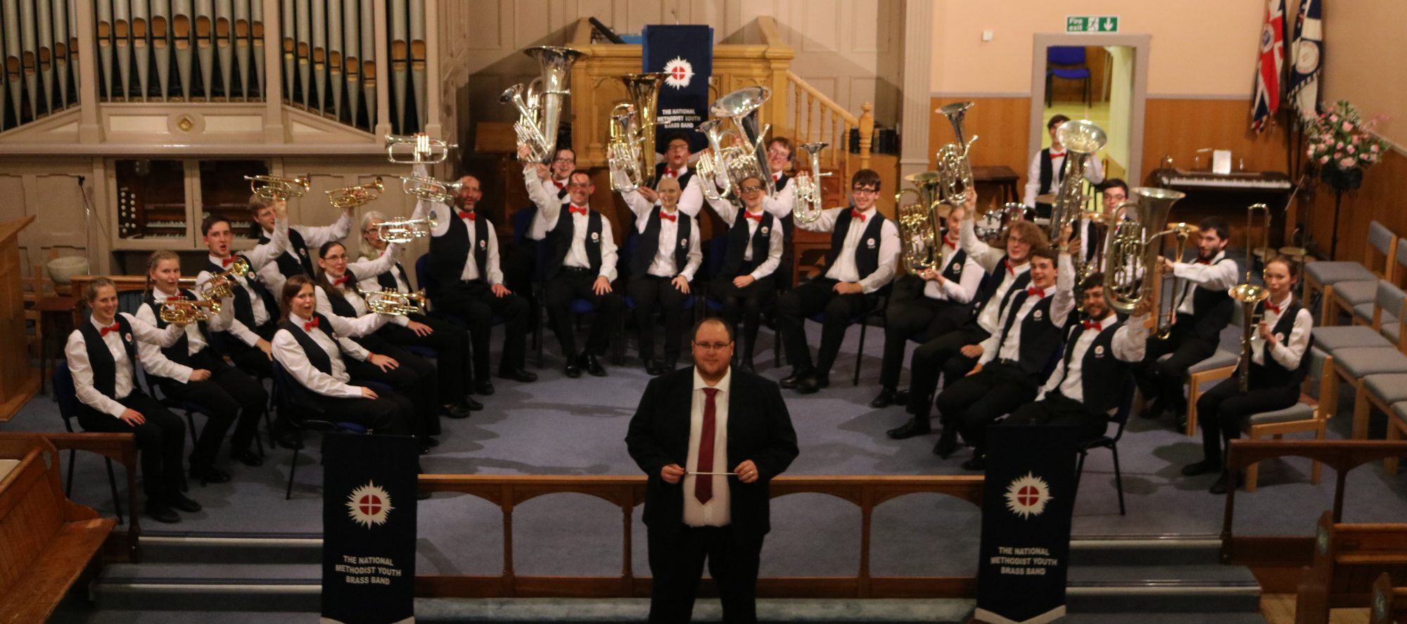 The National Methodist Youth Brass Band
